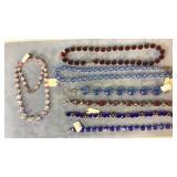 Necklaces Bracelets Glass Crystal Sterling