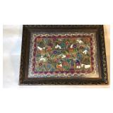 Ethnic Folk Painting on Hand Made Paper