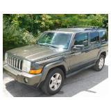 2006 Grey Jeep Commander 3.7L V6