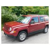 2015 Maroon Jeep Patriot *Reserve*