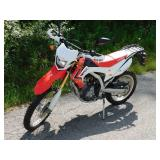 2013 Honda CRF250L Dirt Bike