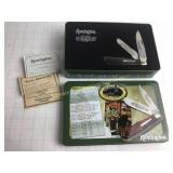 Remington Bullet Knife 25th Anniversary In Case
