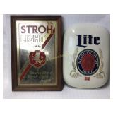 2 Beer Miller Light & Stroh