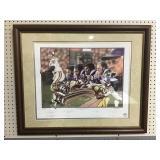 Minnesota Vikings Signed Framed Print