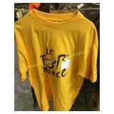 Le Tour De France T-Shirt Size Large