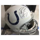 Peyton Manning Signed Colts Helmet