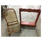 Locking Gun Rack w/ Key & Strong Hide Chair