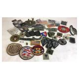 Vintage Military Patches & Pins