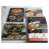 4 Gun & Knife Themed Books