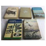 5 Waterfowl Hunting Books HB; Sisley Signed