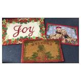 Williamsburg Wool Holiday Mat Sisal & Bear