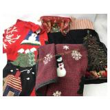 5 Holiday Sweaters Apron Purse