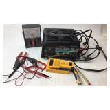Schumacher Battery Charger Midland Multimeter+