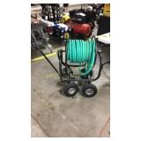 Rolling Garden Hose Cart w/ Handle