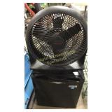 Honeywell Floor Fan & Citerion Compact Fridge