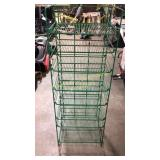 Wire 7-Up 8-Shelf Floor Store Rack