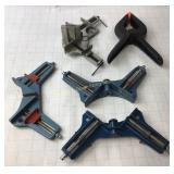 1 Spring Clamp, 1 Angle Clamp, 3 Corner Clamps