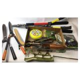 Lot of Various Lawn Care Tools