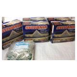 5 Sylvania 300 Light Icicle Light Sets & Clamps