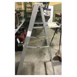 Werner Safe-T Master 4 Ft Aluminum Ladder