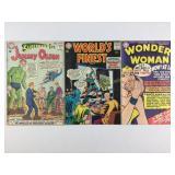 3 DC Comics Wonder Woman, Superman, Batman