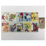 Ten 1966 Marvel Collectible Superhero Cards