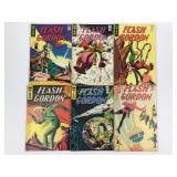 1967 King Comics Flash Gordon #7 #8 #9 #10 #11 #12