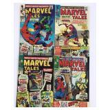 1967-68 Marvel Tales #10 #11 #12 #13