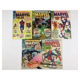 1968-69 Marvel Tales #14 #15 #16 #17 #18