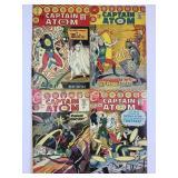 1967 Charlton Comics Captain Atom #86 #87 # 88 #89