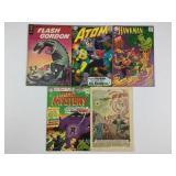 Gold Key Flash Gordon #1 DC Atom #29 & More!