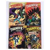 1966 T.H.U.N.D.E.R Agents #10 #11 #12 #13