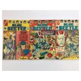 Charlton Comics Blue Beetle #2 #3 #4