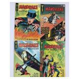 1966 & 1967 Mandrake the Magician #1 #2 #3 #4
