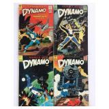 1966 & 1967 Dynamo Thunder Agent #1 #2 #3 #4