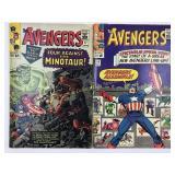 1965 The Avengers #16 # 17