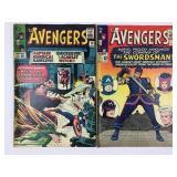1965 The Avengers #18 #19