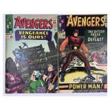 1965 The Avengers #20 #21
