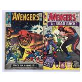 1965 The Avengers #22 #23