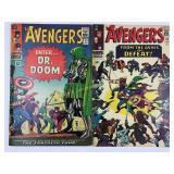 1965 & 1966 The Avengers #24 #25