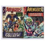 1966 The Avengers #27 #28