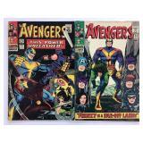 1966 The Avengers #29 #30