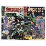 1966 The Avengers #31 #32