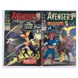 1966 The Avengers #33 #34