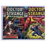 1968 Doctor Strange #171 #172