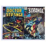 1968 Doctor Strange #175 #176