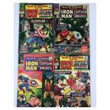 1965 Tales Susp #67 #68 #69 #70 Iron Man Capt Amer