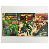 1966 Tales Susp #82 #83 #84 Iron Man & Capt Amer