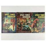 1963-64 Gold Key Space Family Robinson #4 #5 #6