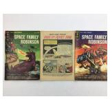 1964 Gold Key Space Family Robinson #7 #8 #9